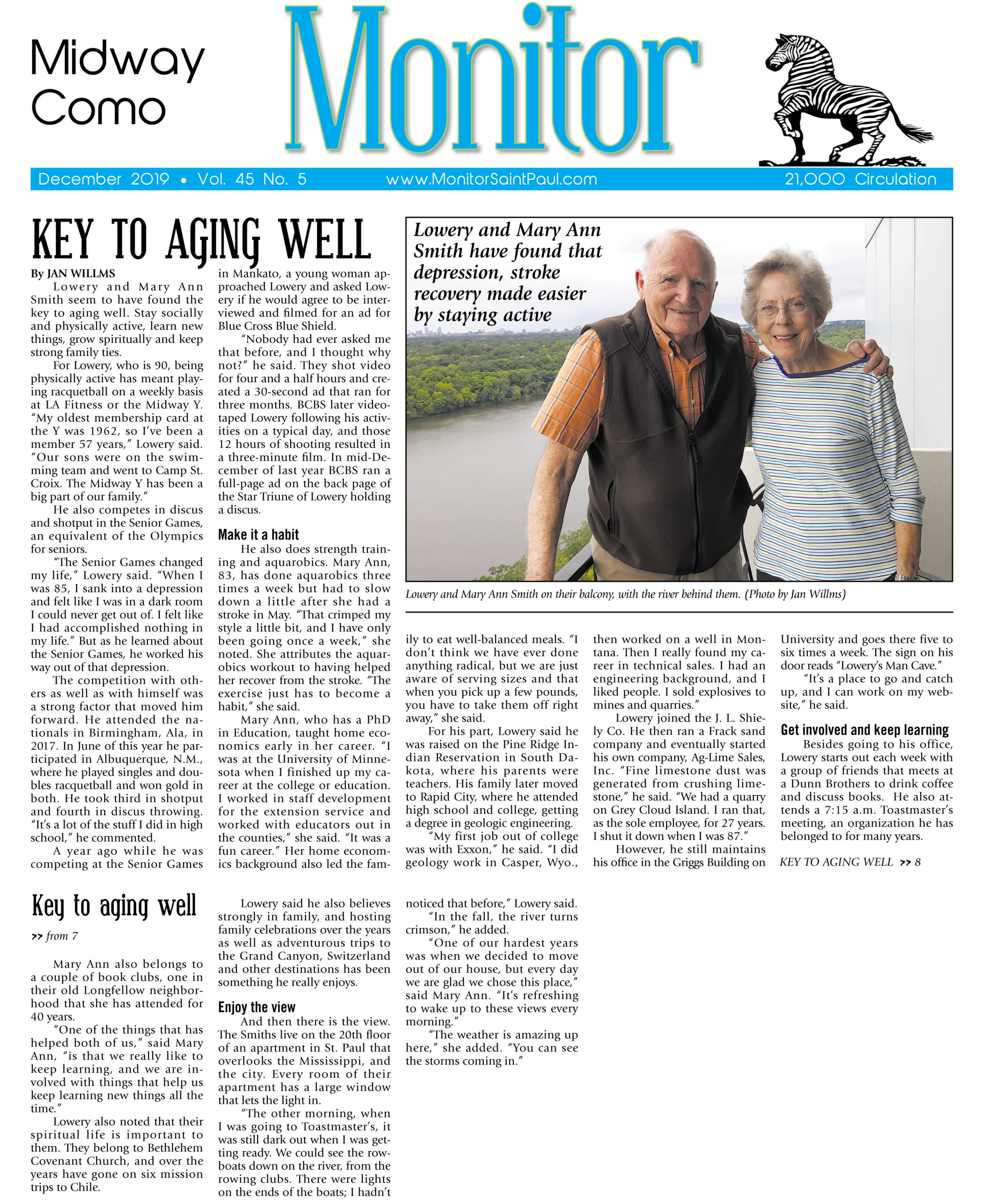 Monitor - Key To Aging Well - December 2019